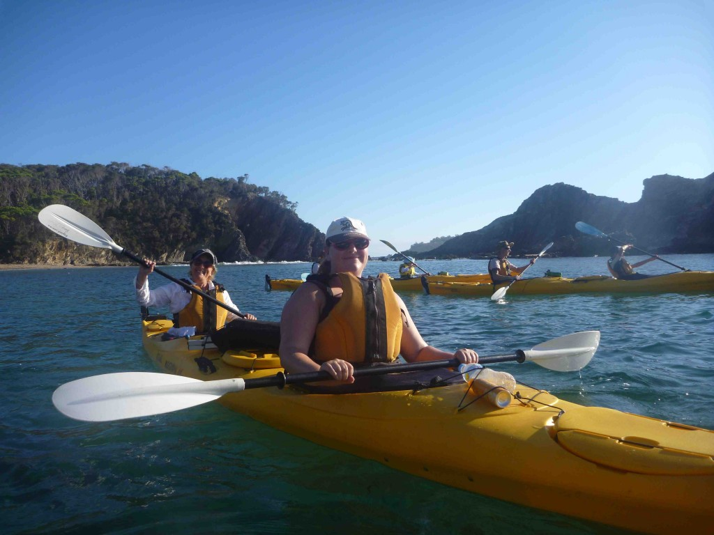 Start your day with a kayak tour and end with a bike ride