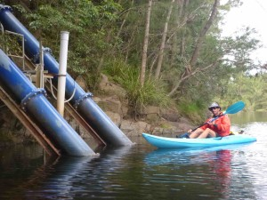 Eurobodalla Drinking water pumped from the Deua River